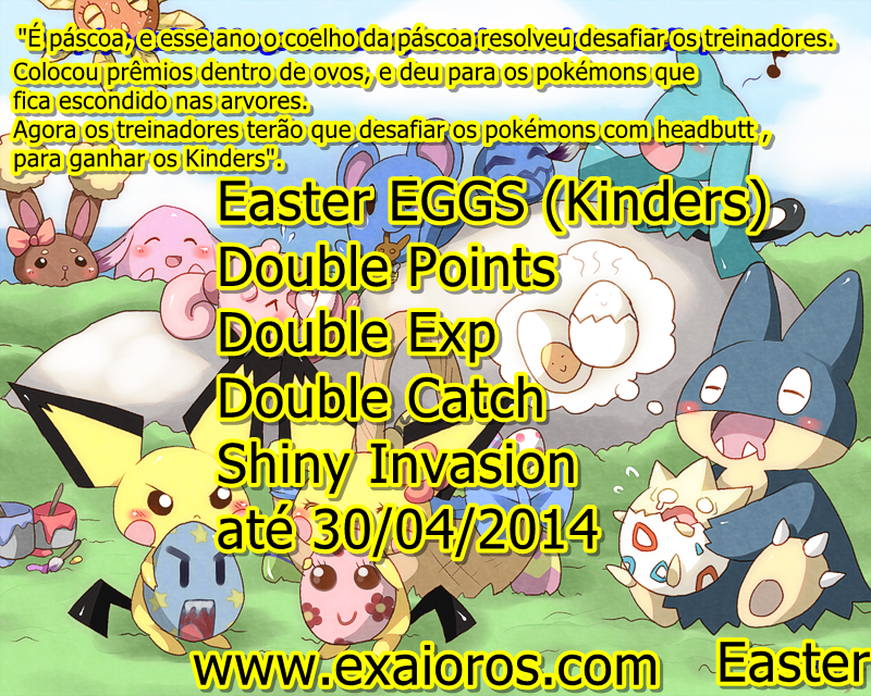 Evento:Easter Eggs 10/04/2014 até 30/04/2014 Kpdo-anuncio